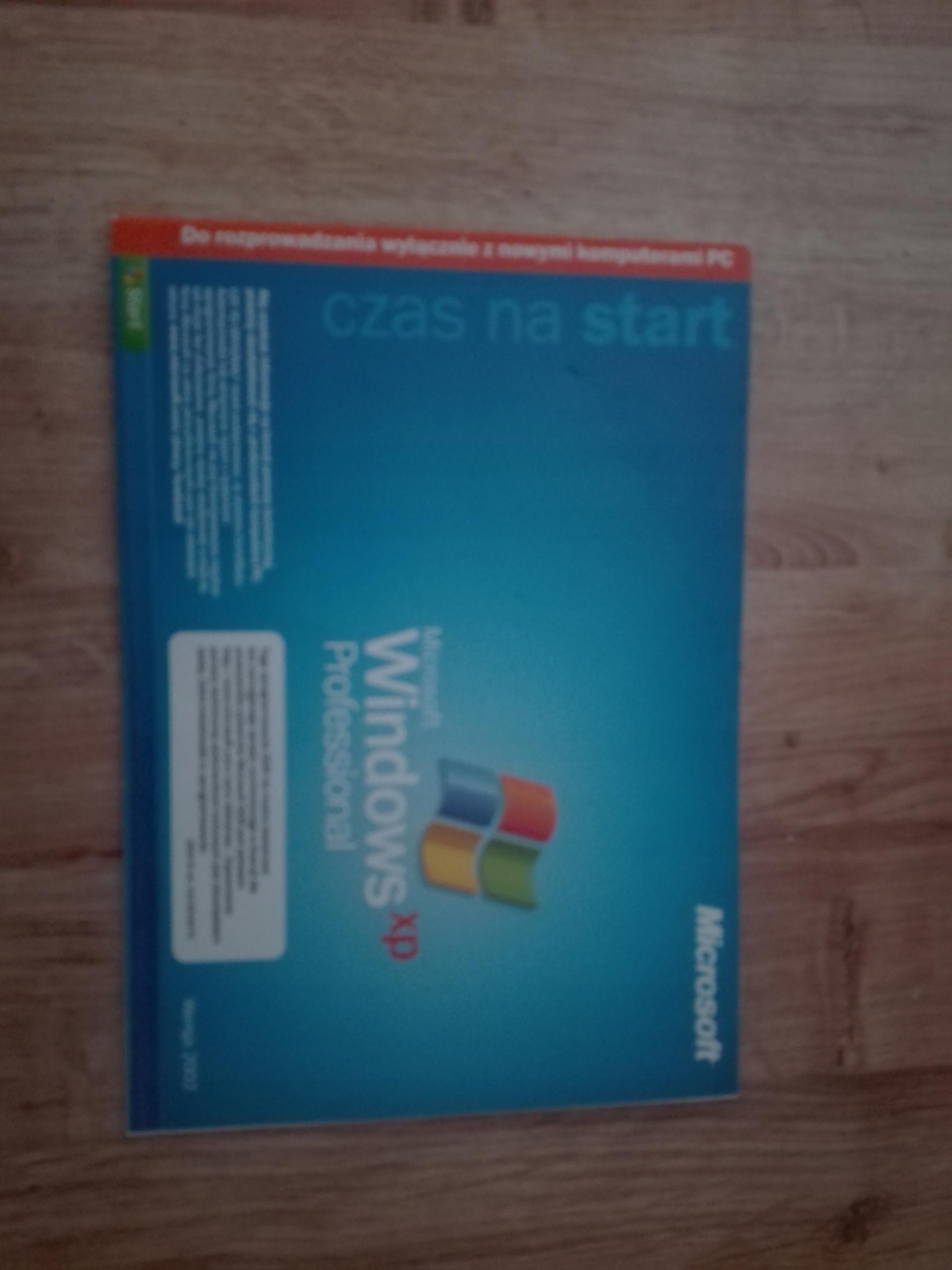 WINDOWS XP PROFESSIONAL WERSJA 2002