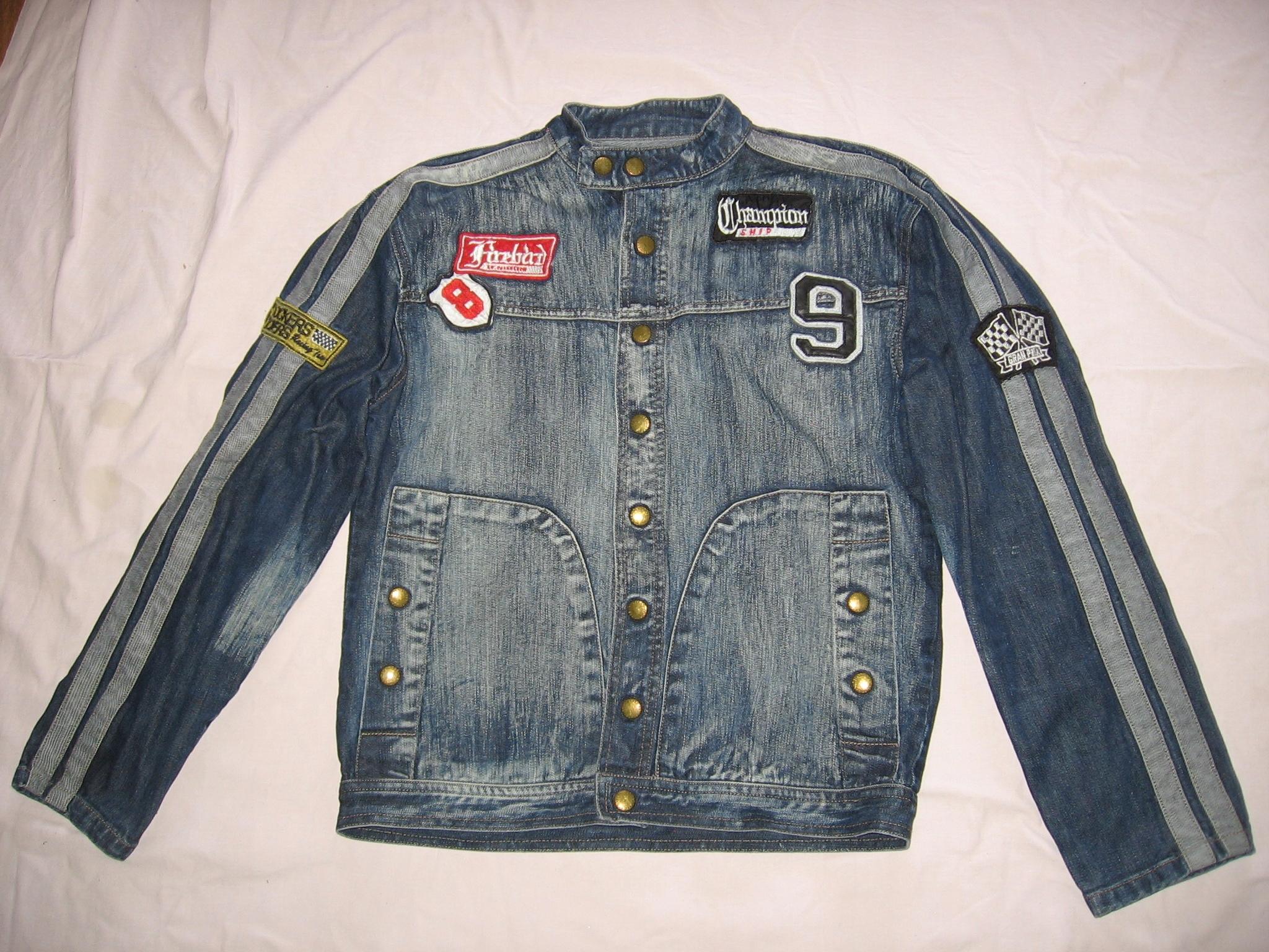kurtka katana jeansowa dżinsowa dżins Champion L