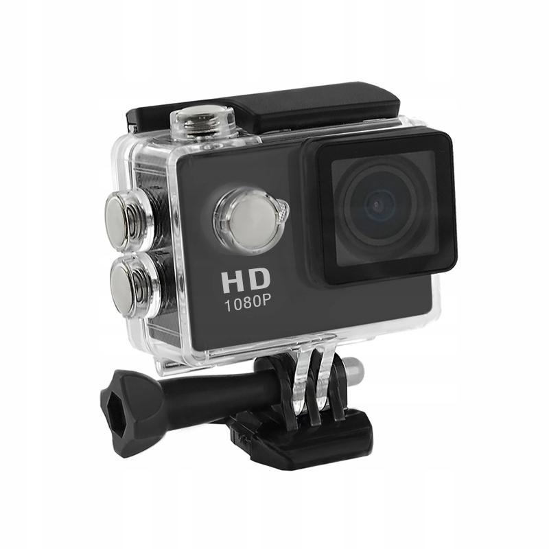 Wodoodporna kamera sportowa Full HD LCD 2.0