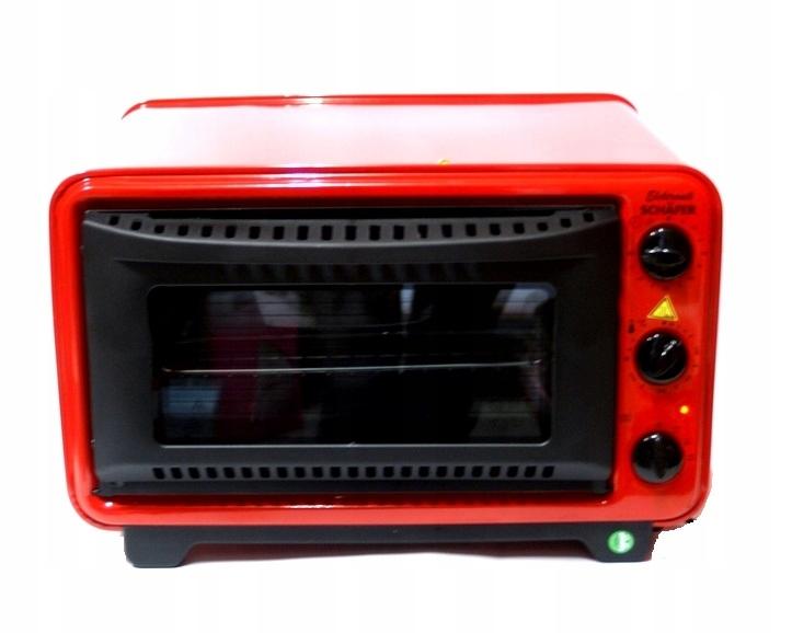 Piekarnik Mega Duży 32 L Schafer 20462 czerwony