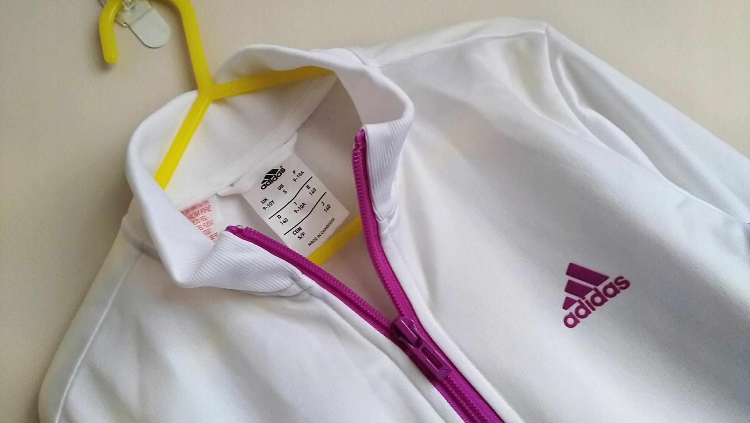 ADIDAS nowa bluza dla dziewczynki r.140 9 10L
