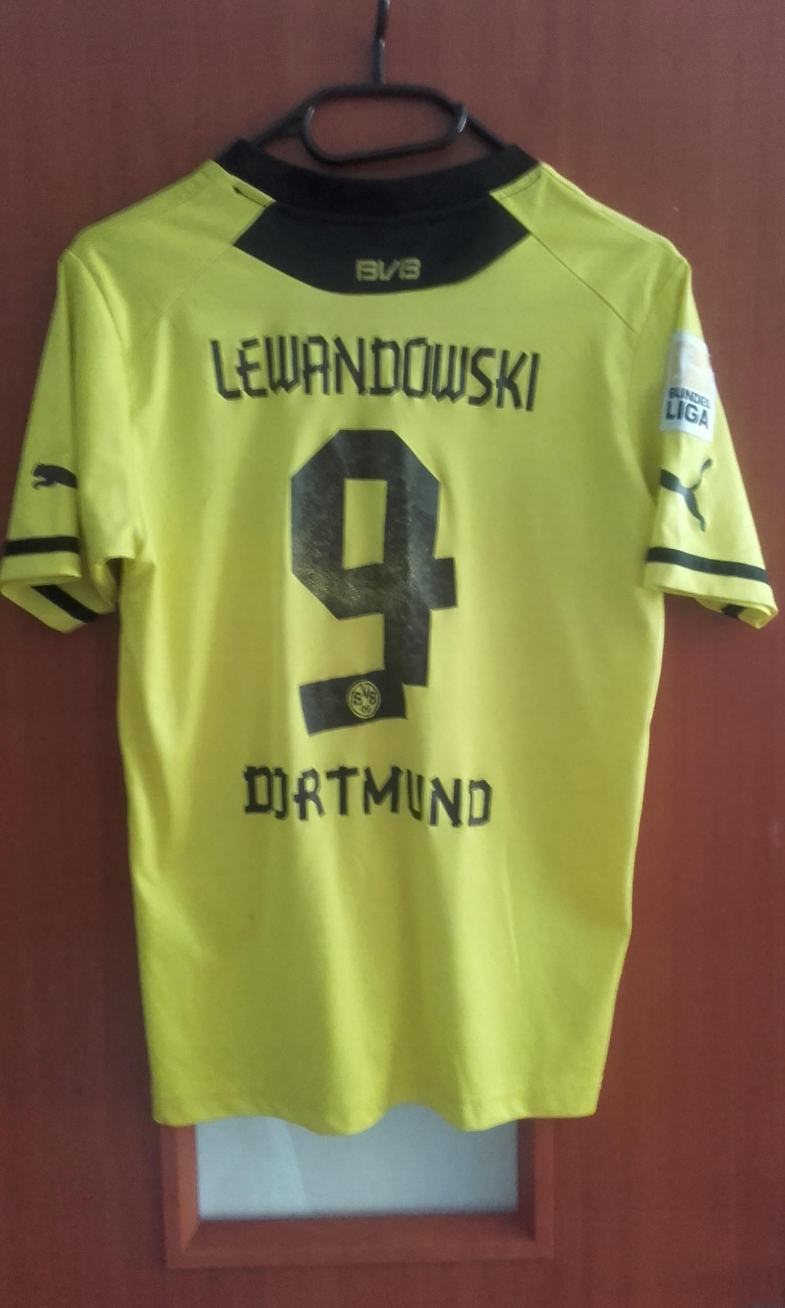 Koszulka Puma Borussia Dortmund Lewandowski 13-14