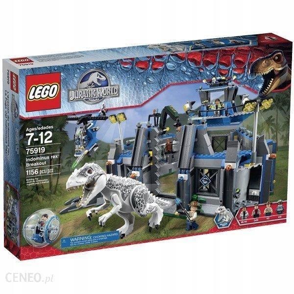 LEGO 75919 JURASSIC WORLD Indominus Rex na wolnośc