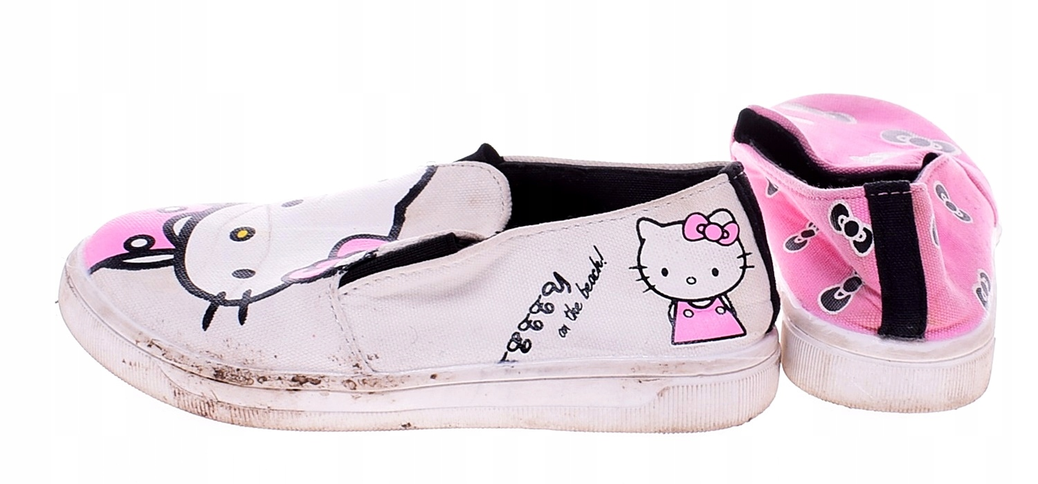 9532-51 ...HELLO KITTY... a#f TENISOWKI GUMKI r.32