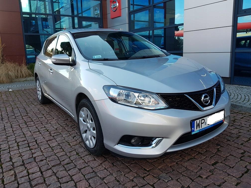 Nissan Pulsar 1.2 benz Salon PL 1-szy Wł Jak Nowy!