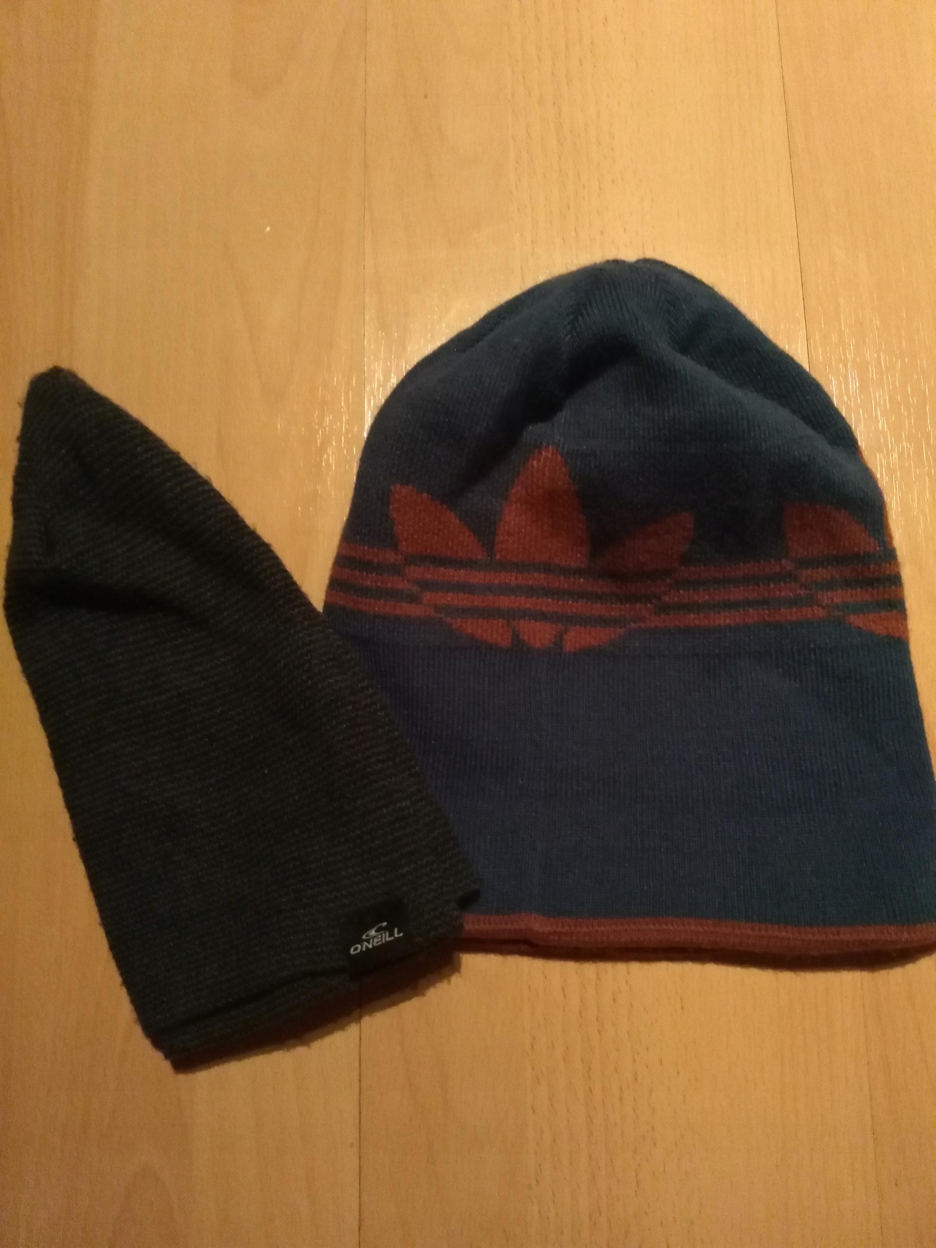 czapka zimowa adidas + gratis ONEILL SNOWBOARD