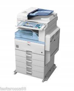 Ricoh MP C2551 ksero druk skan fax 17 500 kopii