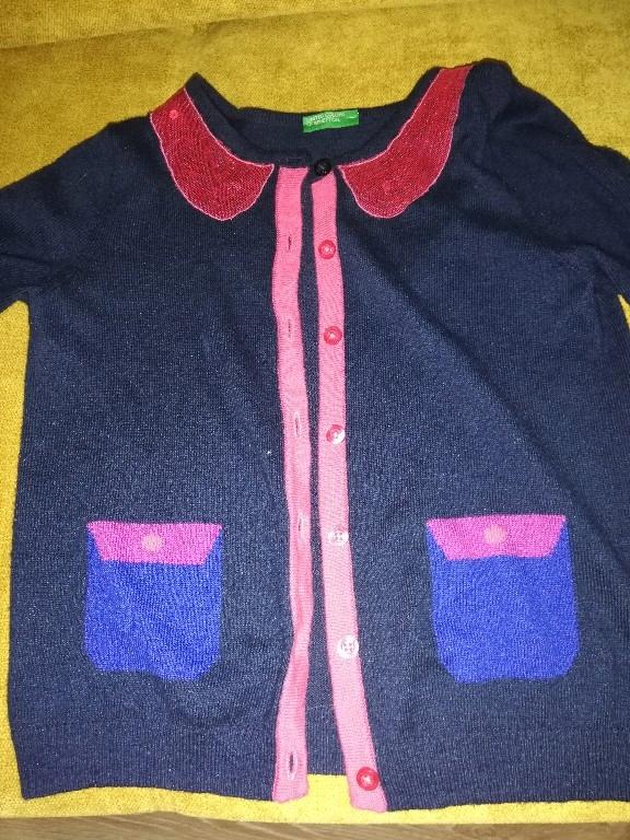 swetr bluzka benetton r 104 super stan