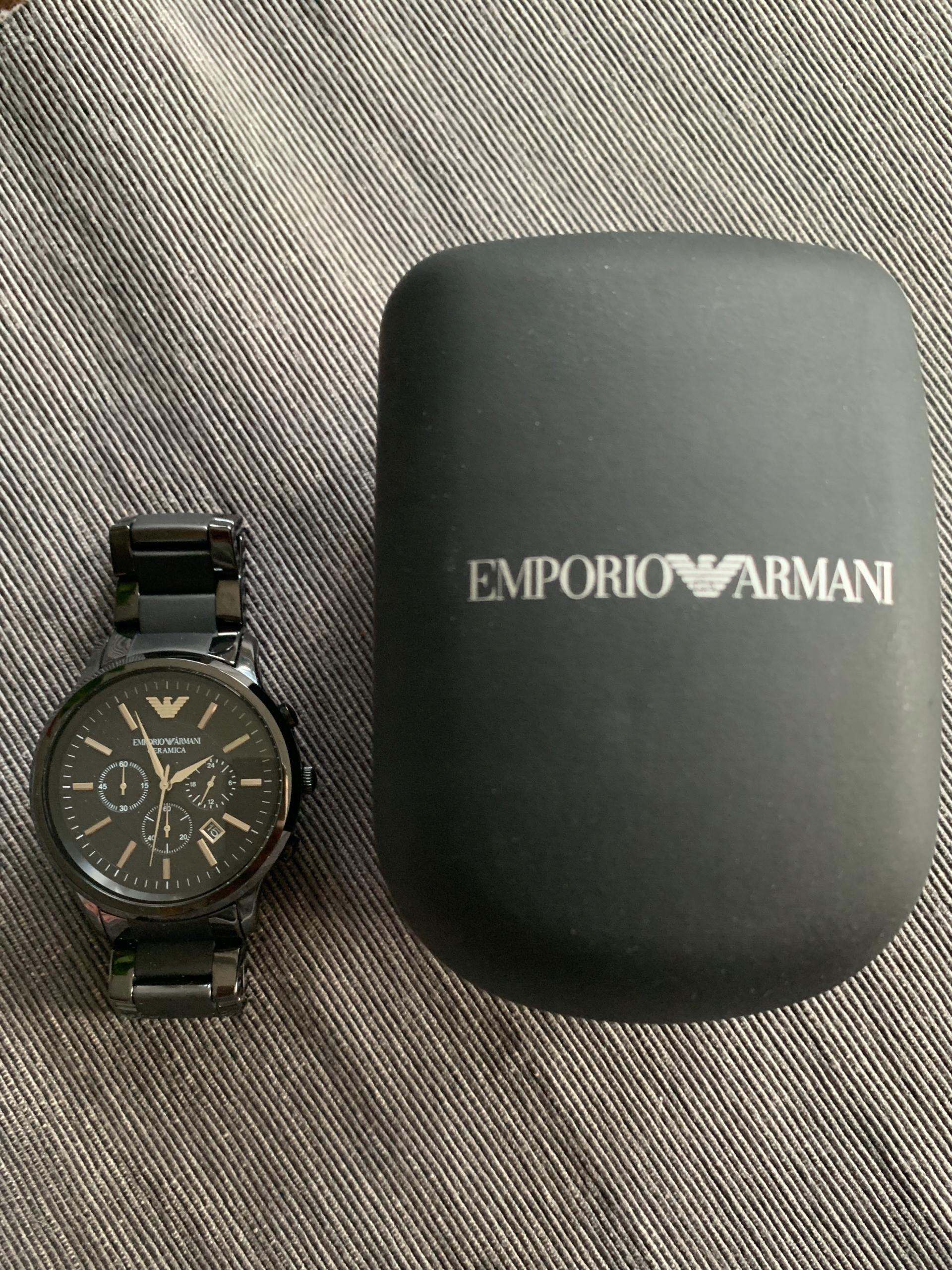Zegarek Emporio Armani Renato Nowy