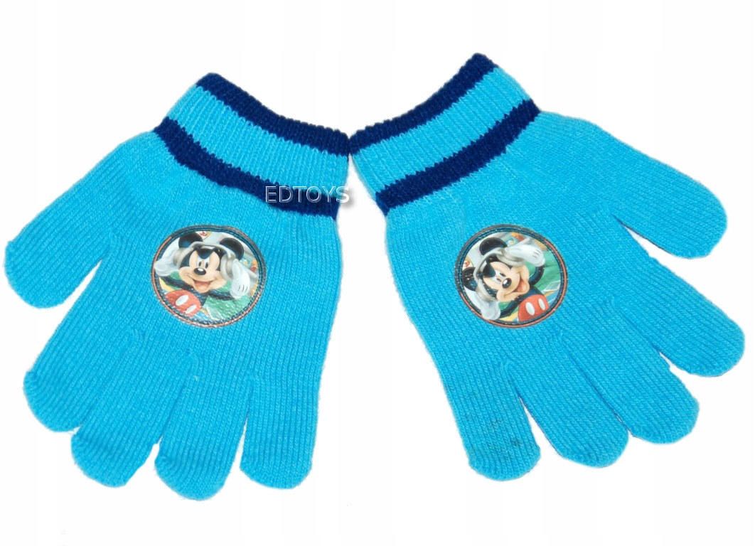 Rękawiczki zimowe akryl Disney 4-7lat MIKI W22