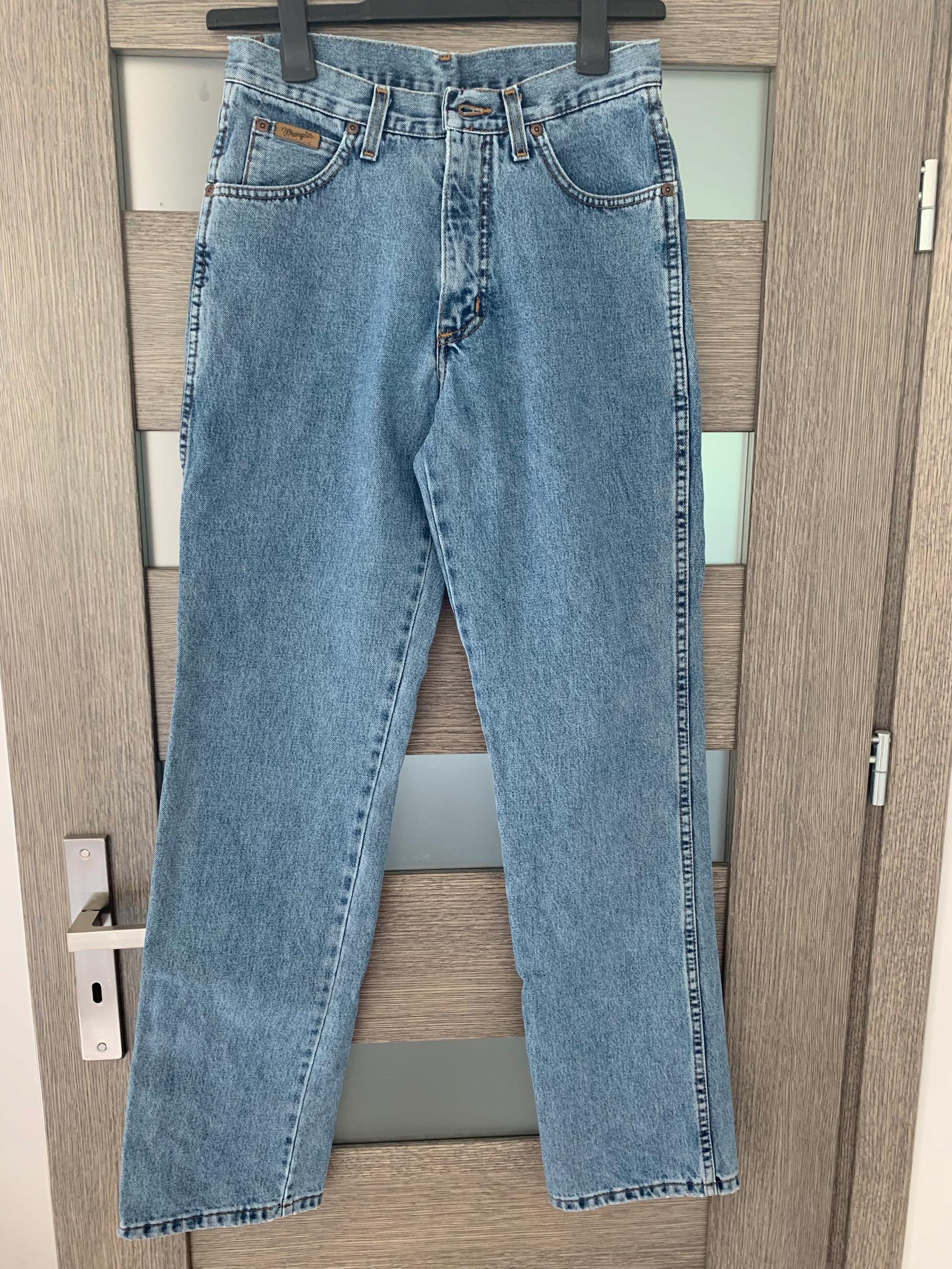 Jeansy wrangler 30/34 uniseks boyfriend mom jeans