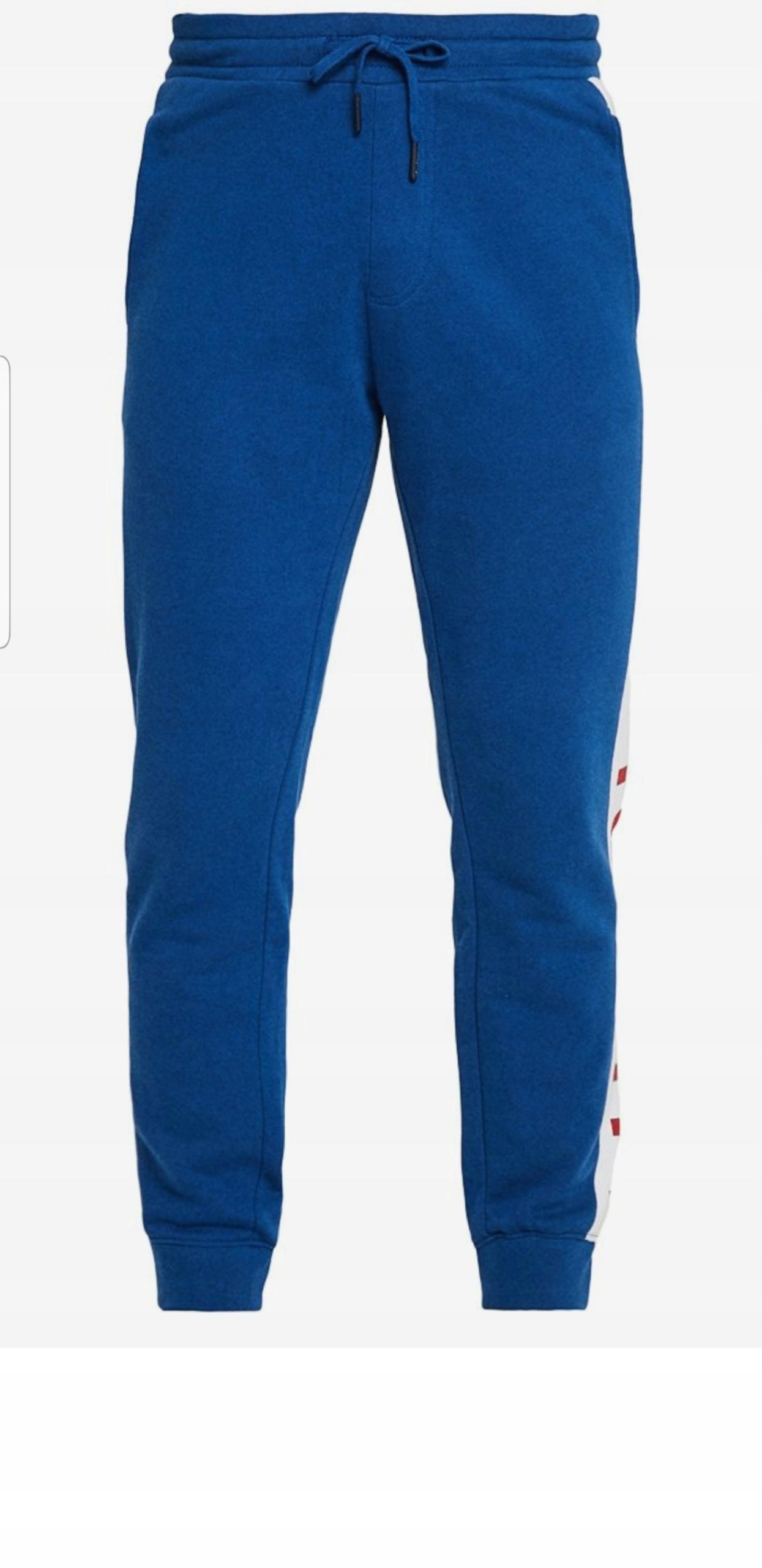 Spodnie dresowe Tommy Hilfiger-rozmiar L-Oryginal