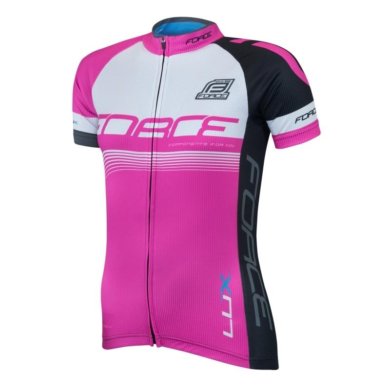 FORCE LUX damska koszulka rowerowa r.S