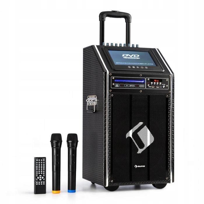 Przenośny system Karaoke Auna DisGo Box100 z DVD