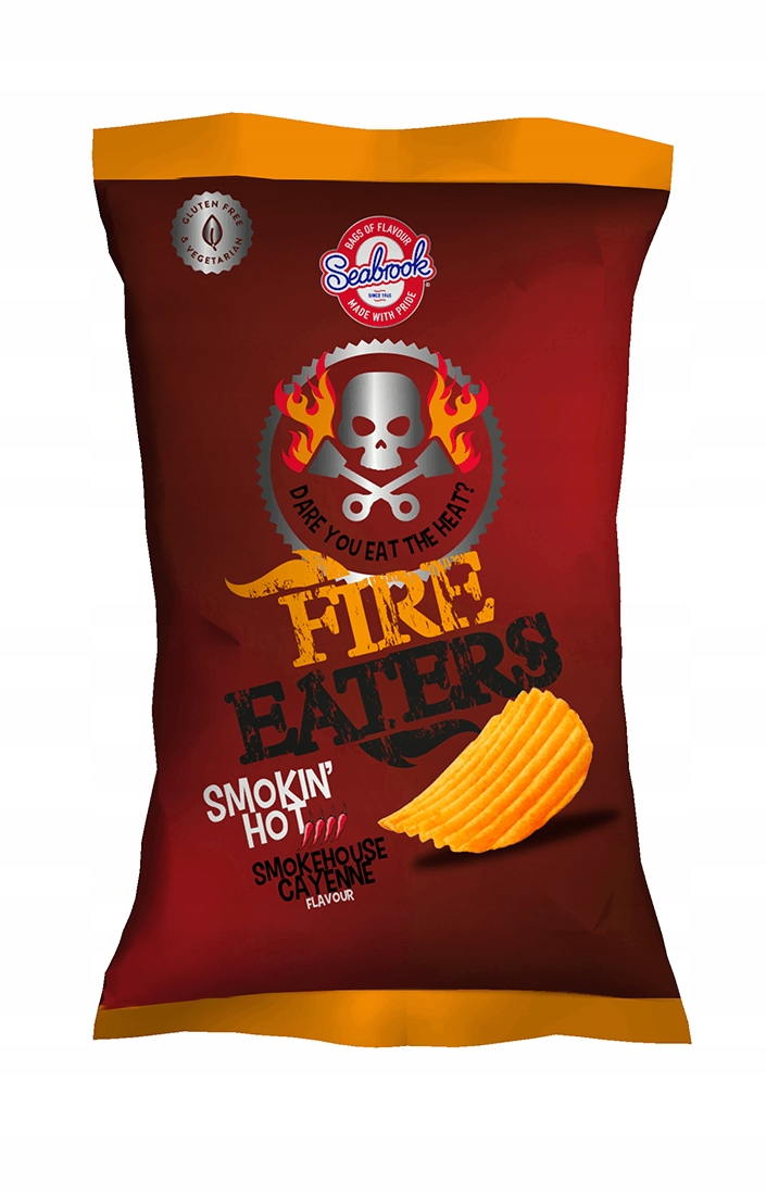 Seabrook Fire Eaters Hot Smokehouse Cayenne 150g
