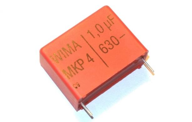 1uF 630V MKP4 WIMA 27.5mm Kondensator [1szt.]