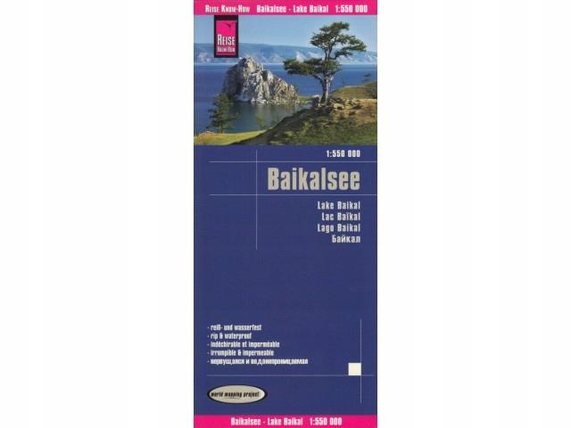 ArtTravel KRAKÓW: Baikalsee 1:550 000 mapa Reise K