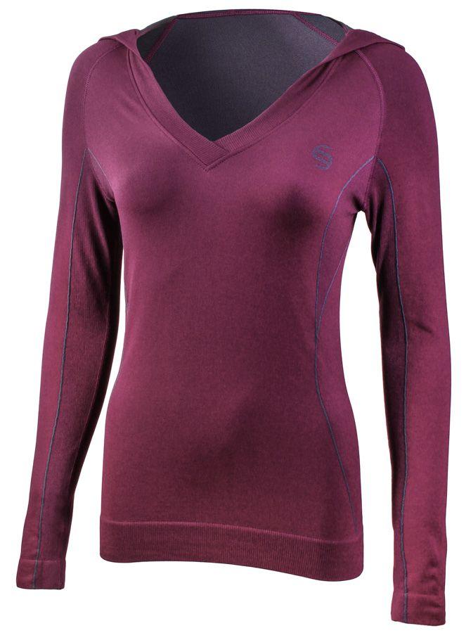 Bluza sportowa BRUBECK Fit Balance Purple # S