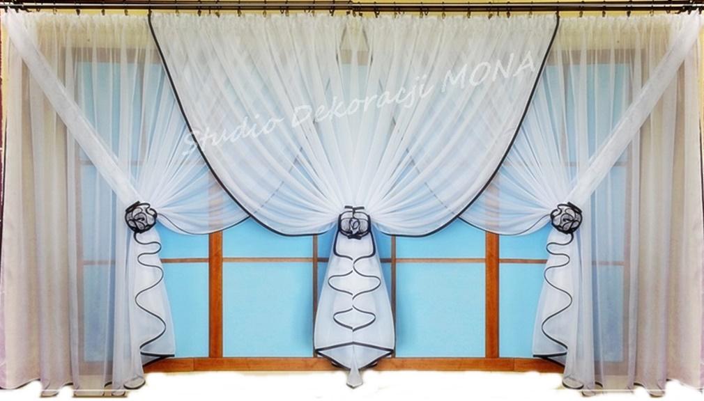Gotowe Firanki Firanyamanda Woal 500x150 6840350445