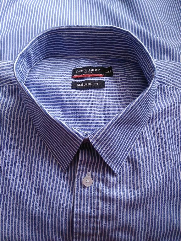 Pierre Cardin Paris koszula męska w paski 4XL