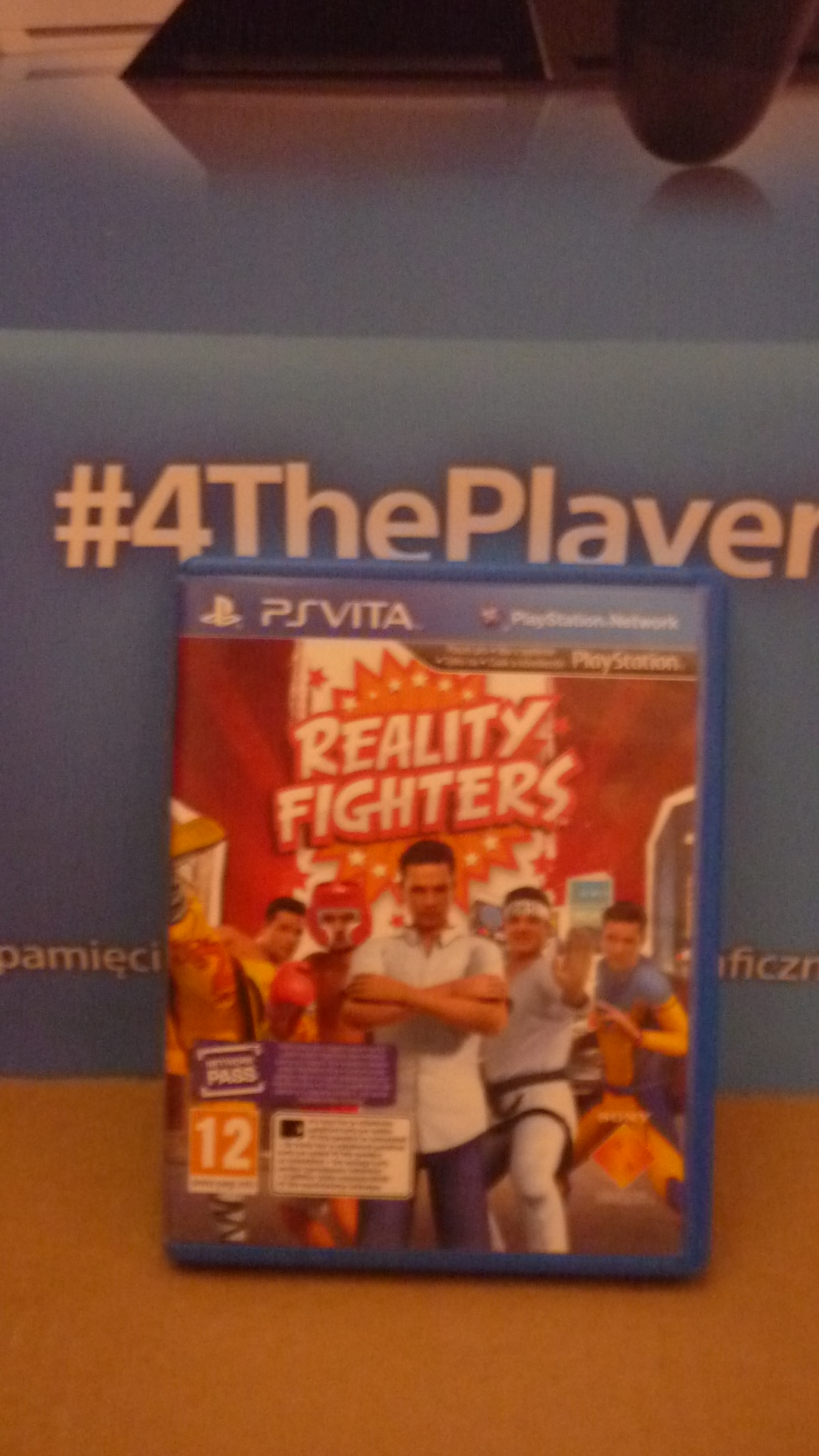 REALITY FIGHTERS PS VITA playstation