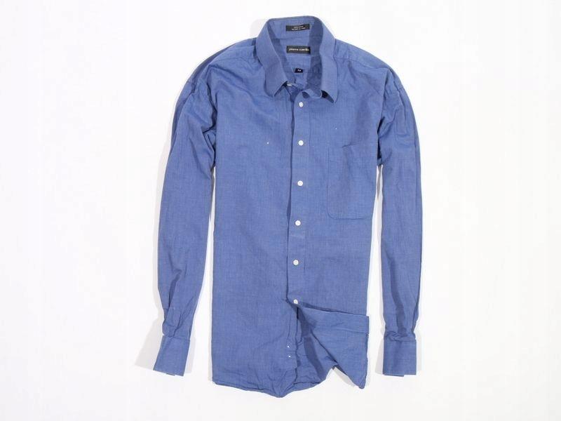 Pierre Cardin Tailored Koszula Męska Niebieska XXL