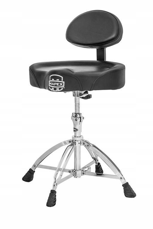 Mapex T 775 stołek perkusyjny z oparciem