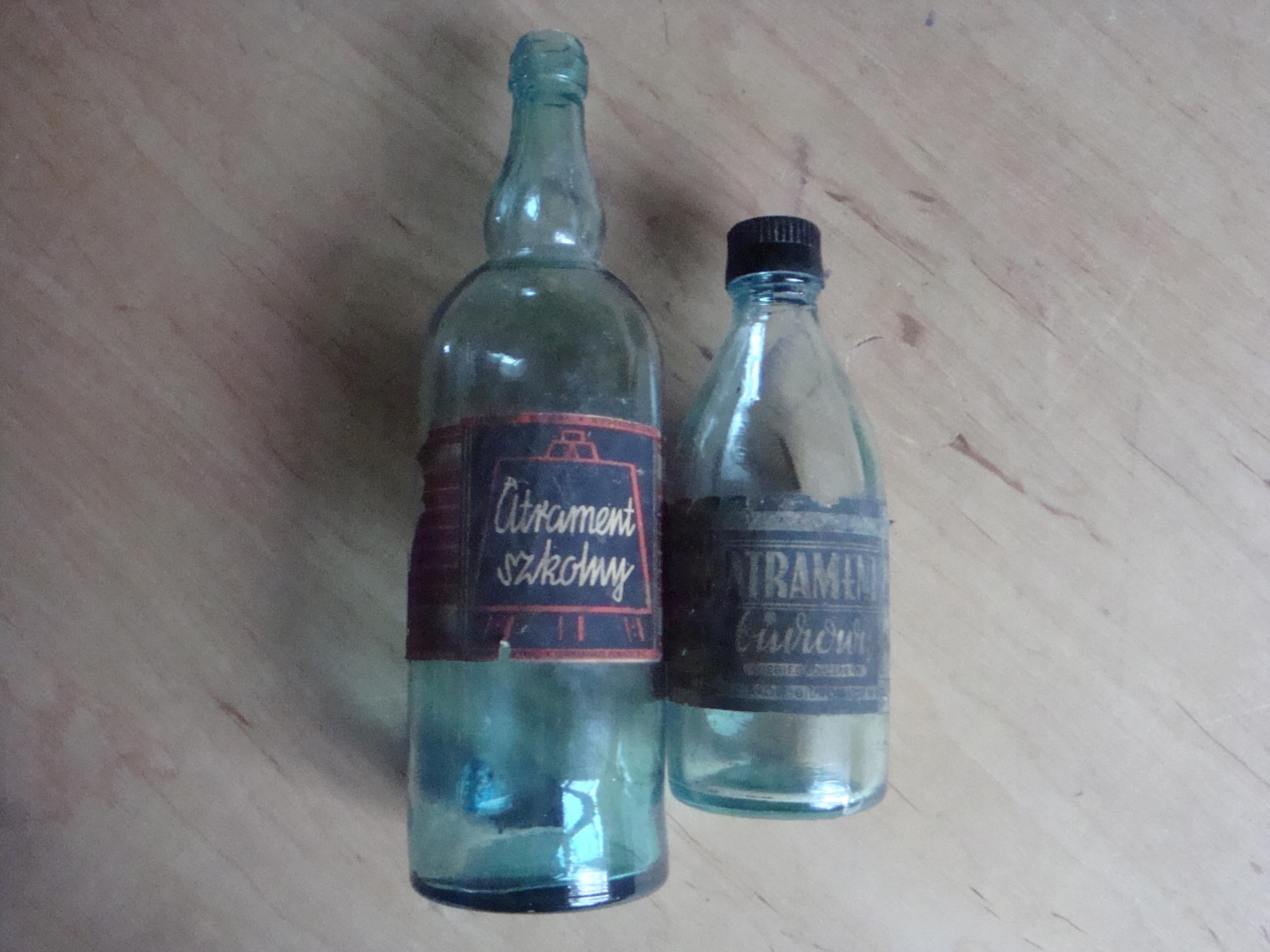 butelki po atramencie