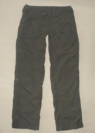 **THE NORTH FACE** khaki damskie spodnie r.S bdb