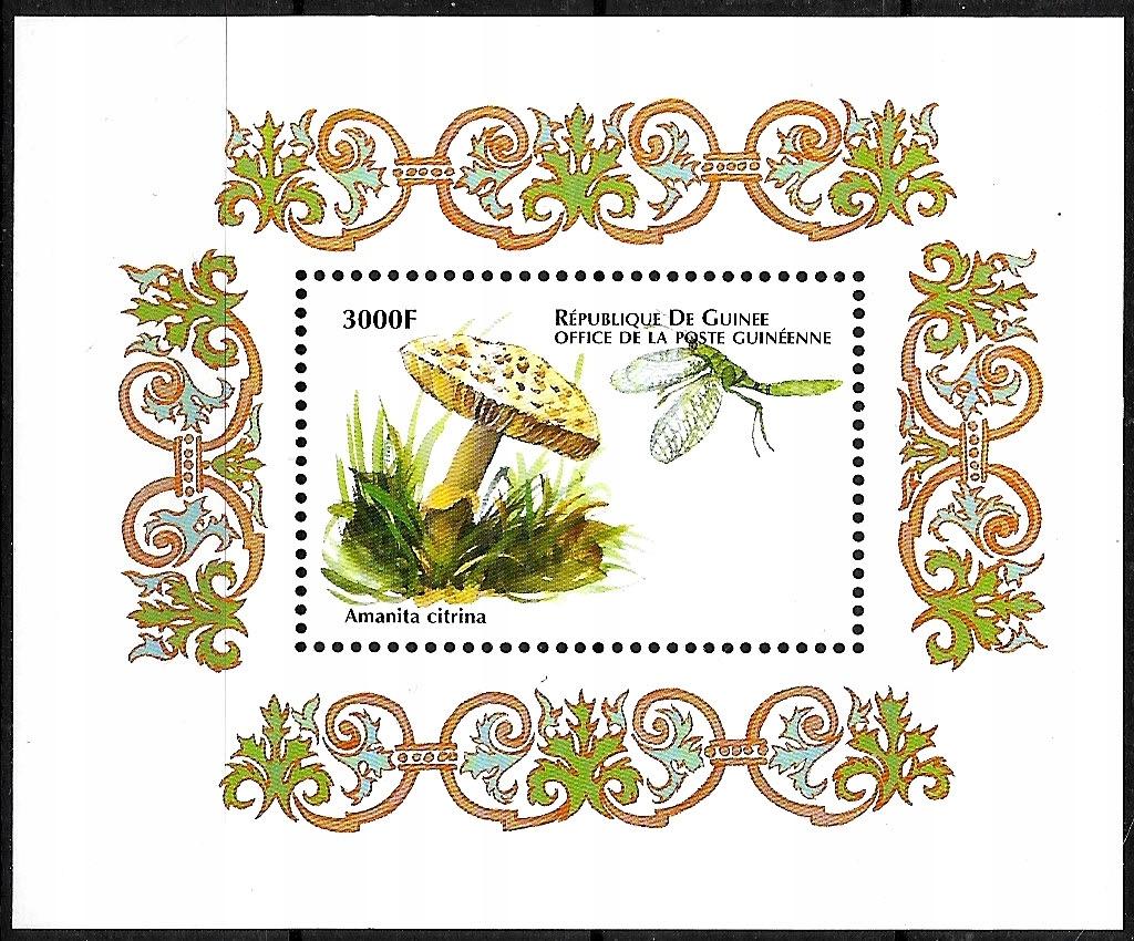 FL895 1999 FLORA grzyby bl.** Gwinea