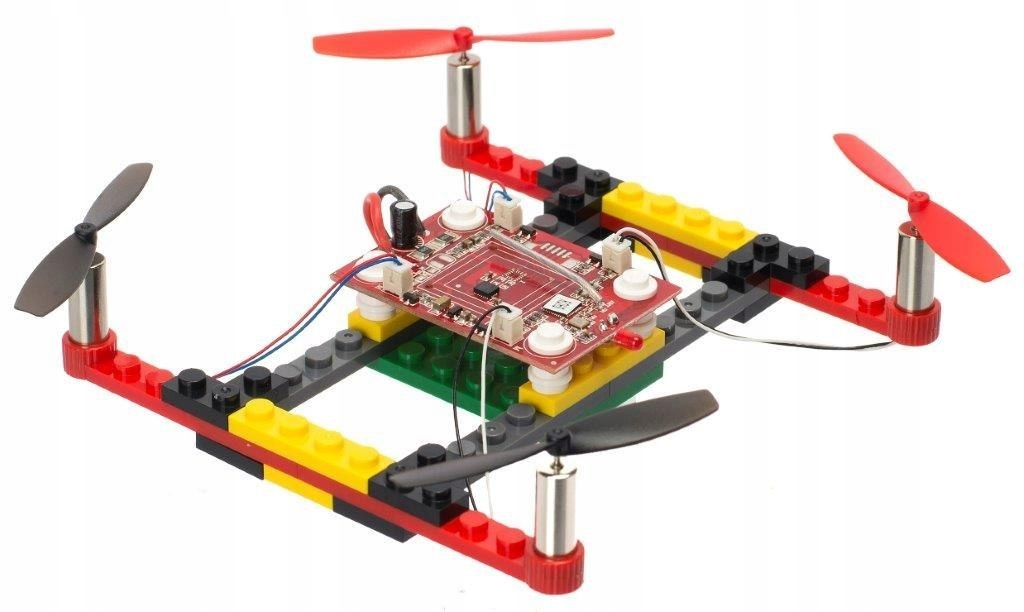 Dron RC z klocków Blocks Drone DIY