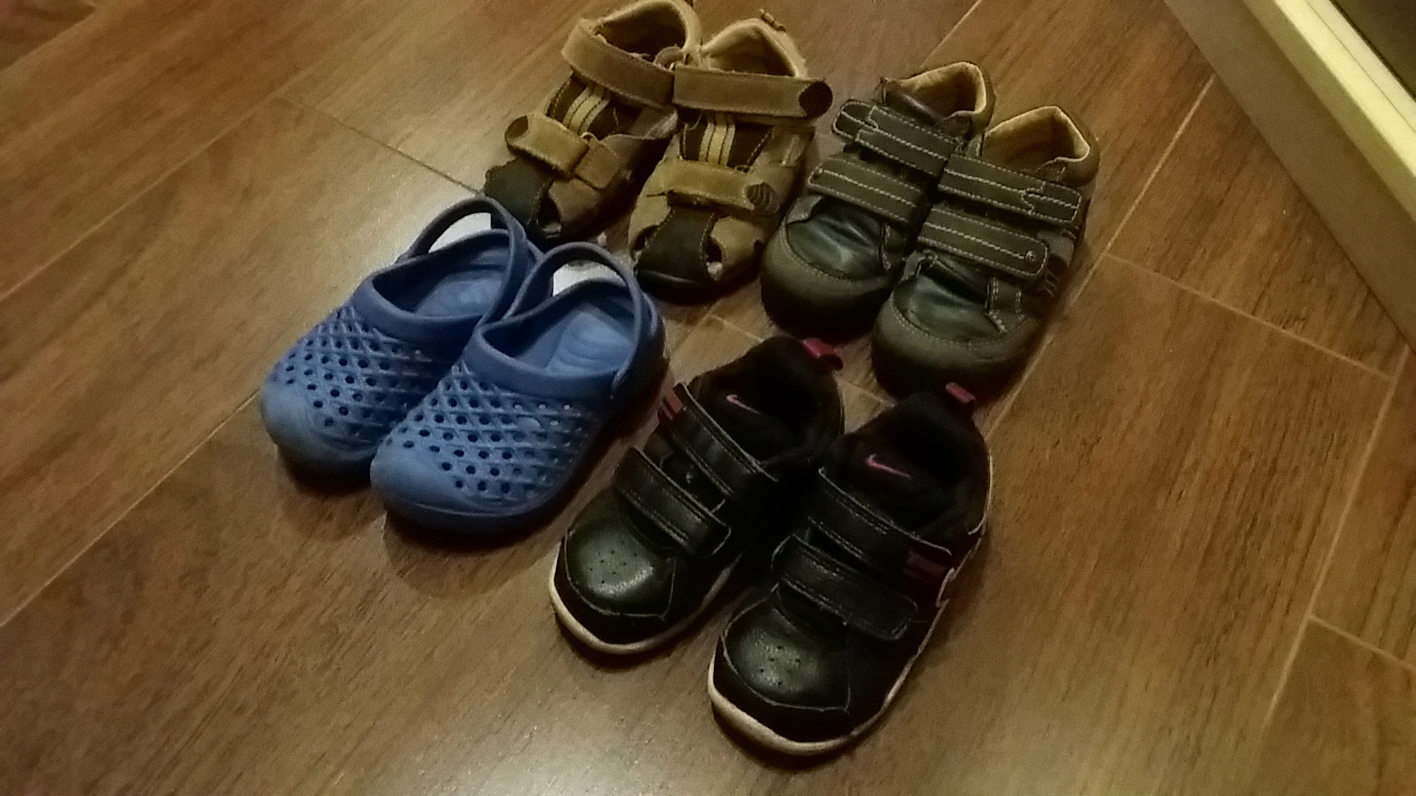 zestaw buty 23 sandałki nike