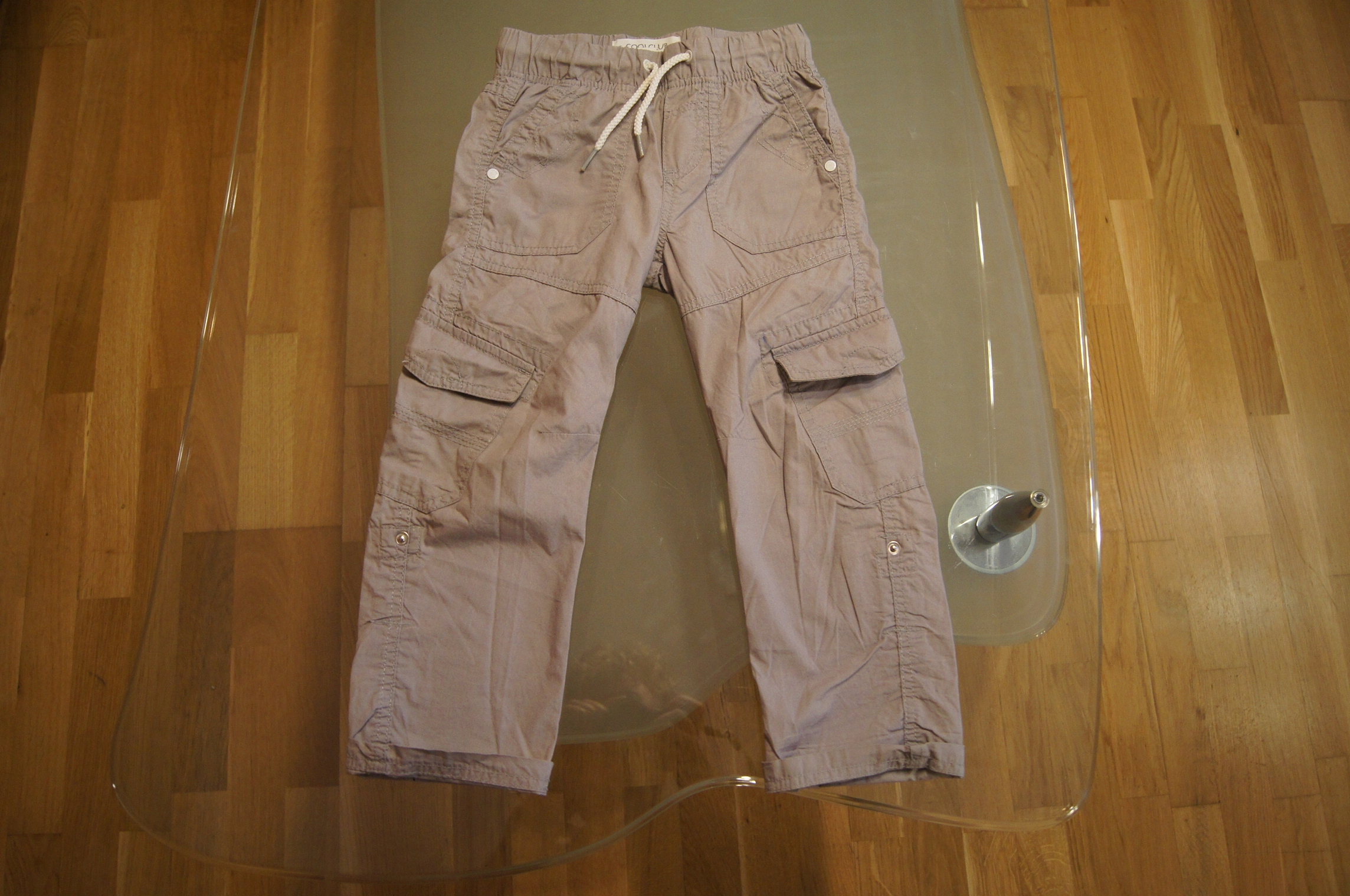 Smyk Cool Club spodnie chłopięce bojówki 110