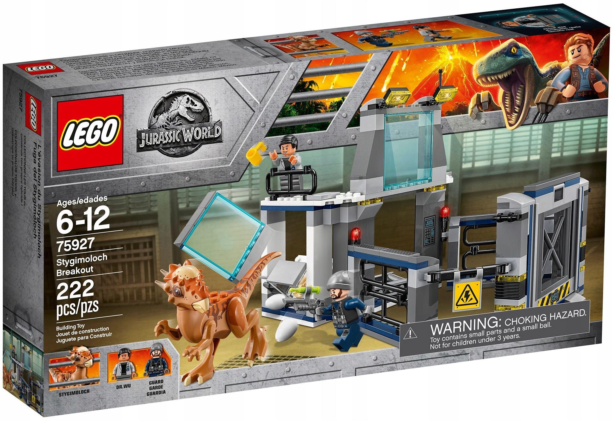 LEGO Jurrasic World Ucieczka z laboratorium 75927