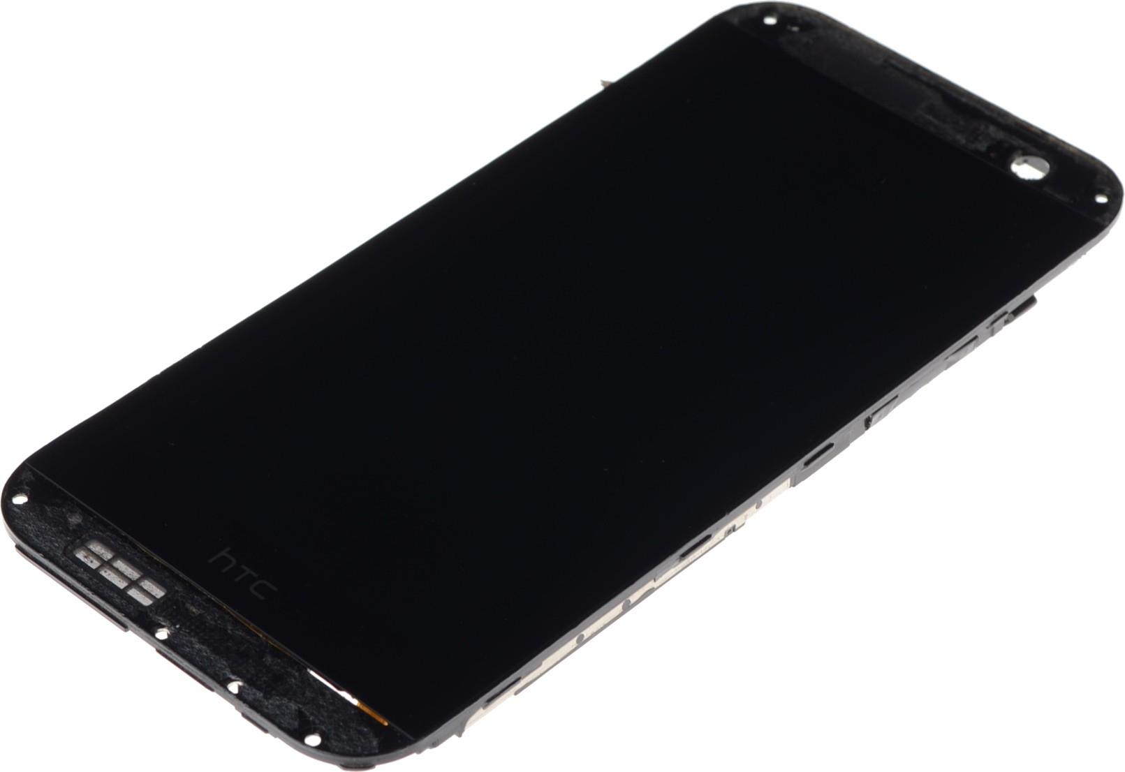Wyświetlacz LCD HTC One M8 dotyk szybka ramka