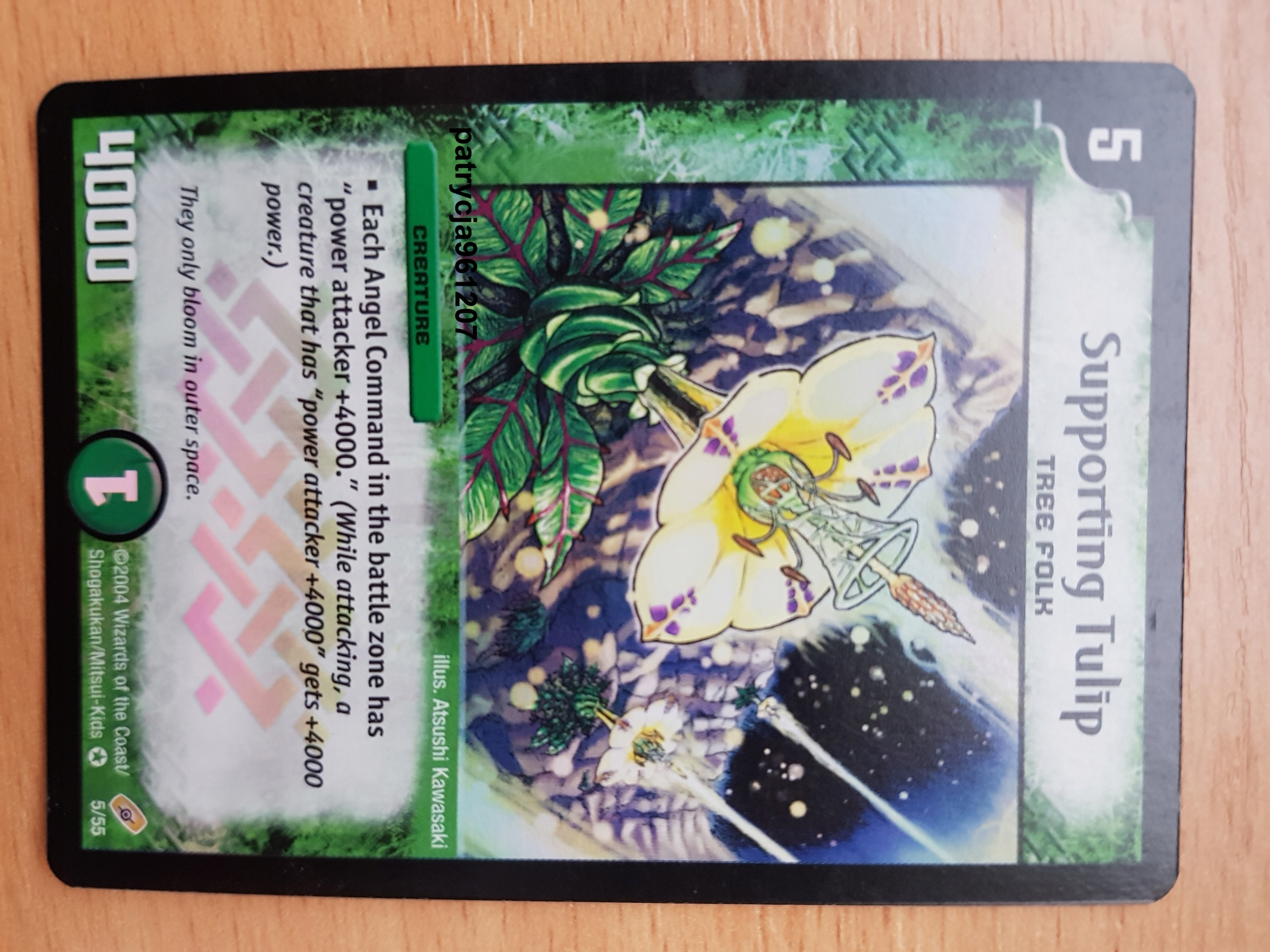 Duel Masters Supporting Tulip holo