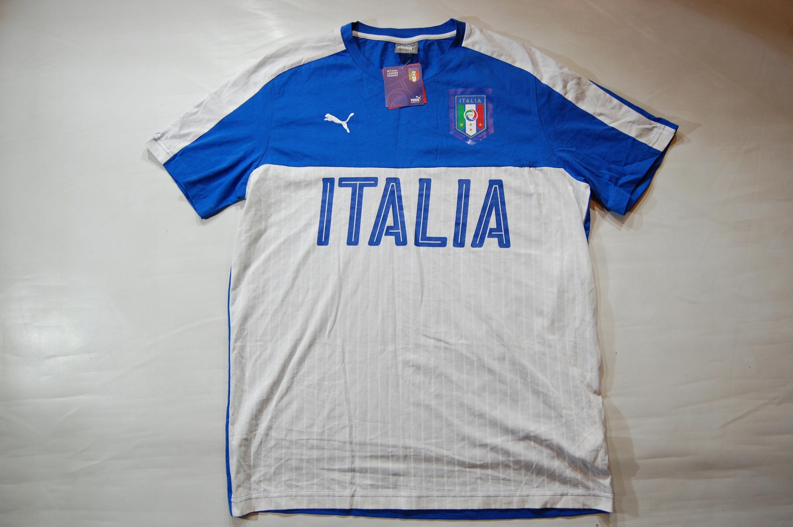 Nowa koszulka Puma Italia Rozmiar L
