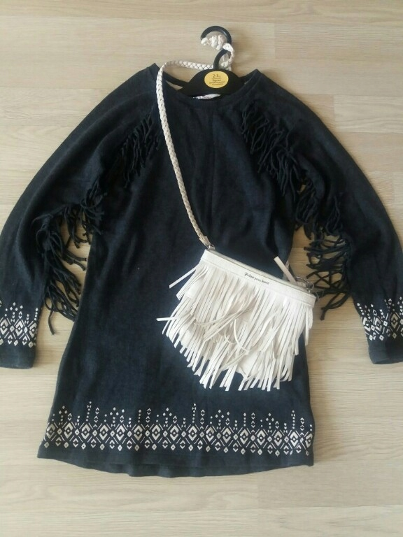 Sukienka H&M r.122/128 fredzle