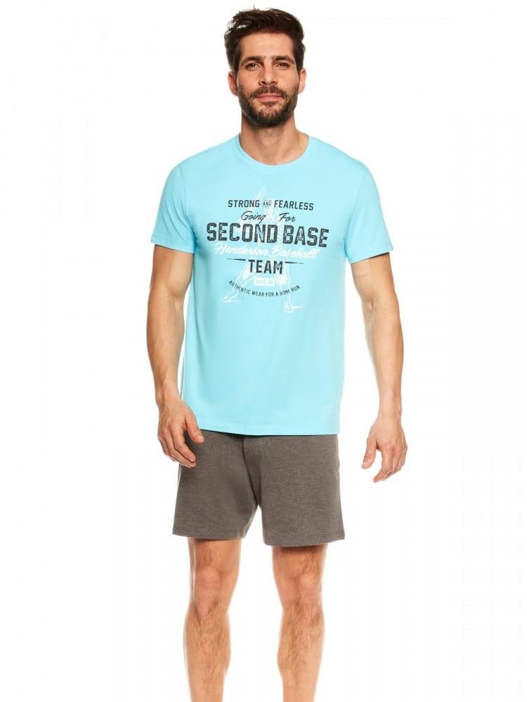 Piżama Męska Model Join 36823-50X Blue/Grey