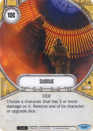 Star Wars Destiny - Subdue