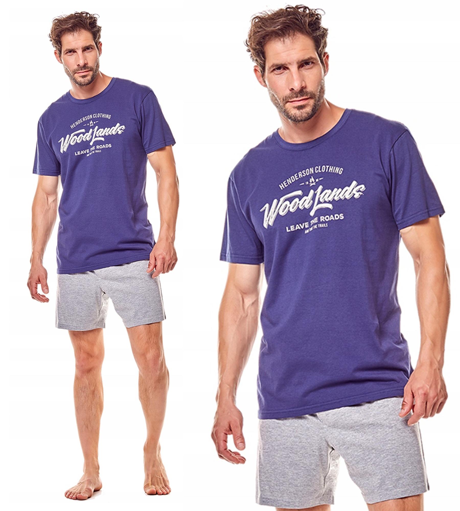 HENDERSON!! Piżama męska / FINE *XL* 36200-59X