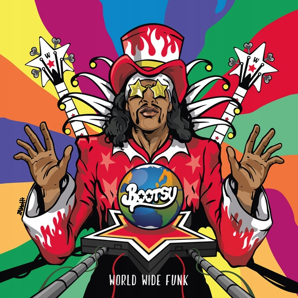 BOOTSY COLLINS World Wide Funk _ KRÓL CRAZY FUNKU