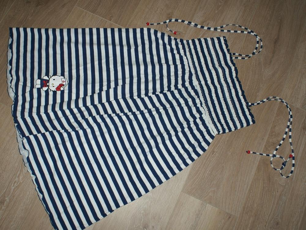 HELLO KITTY _ piękna letnia plażowa sukienka _ 146