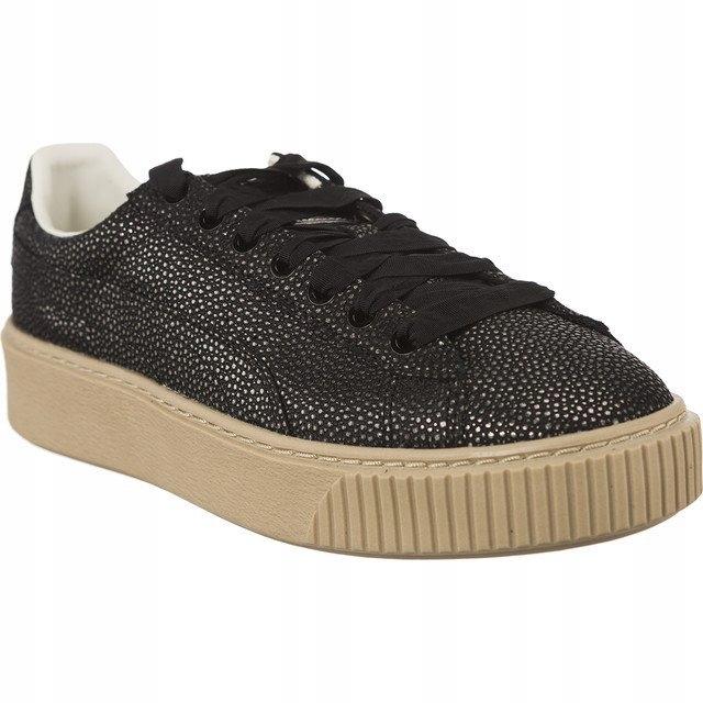 Czarne Ze skóry licowej Buty Damskie Adidas rozmiar 37 13