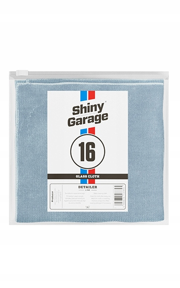 SHINY GARAGE GLASS CLOTH 35x35cm do szyb