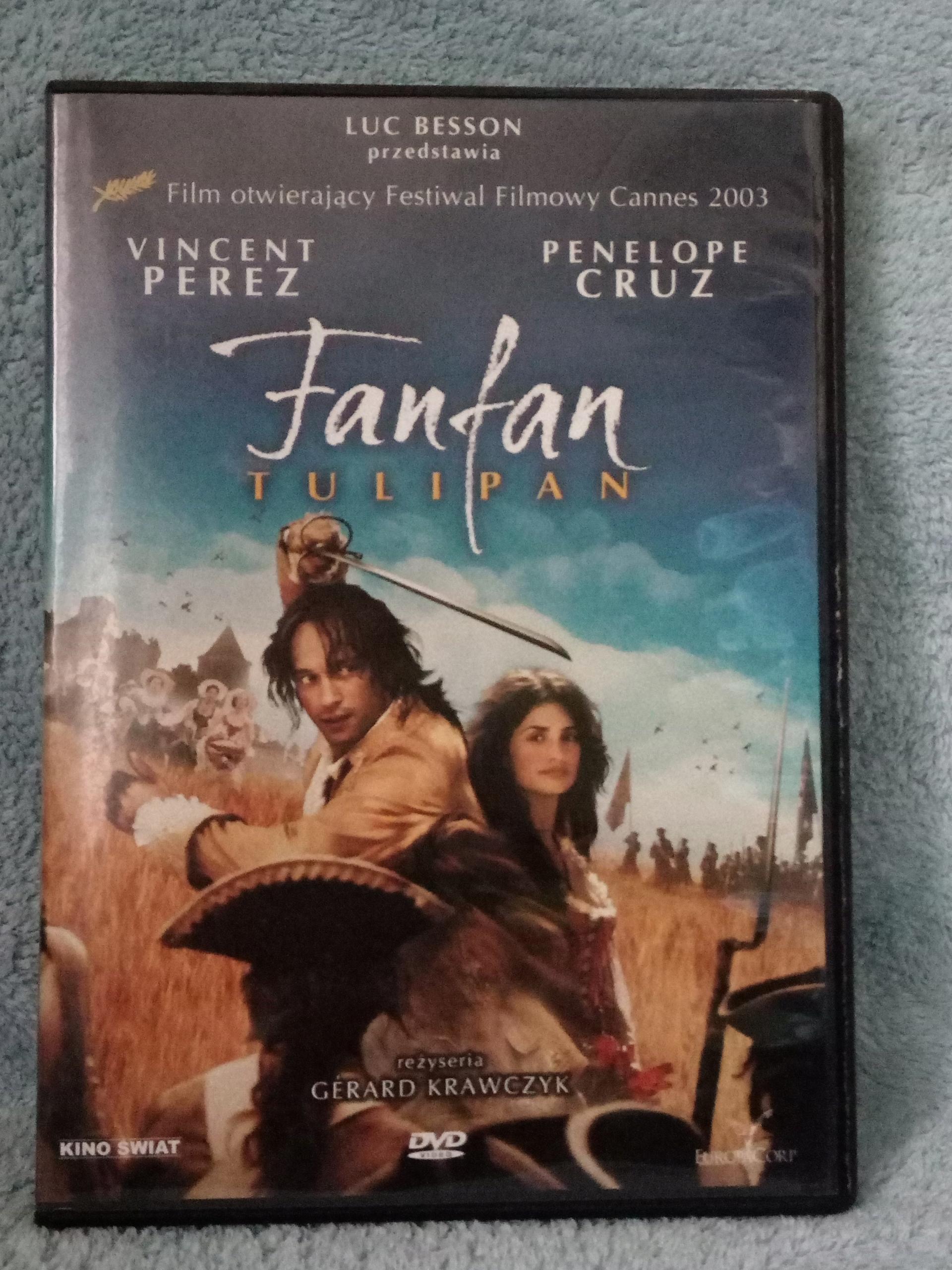 """film """"Fanfan. Tulipan"""" DVD"""