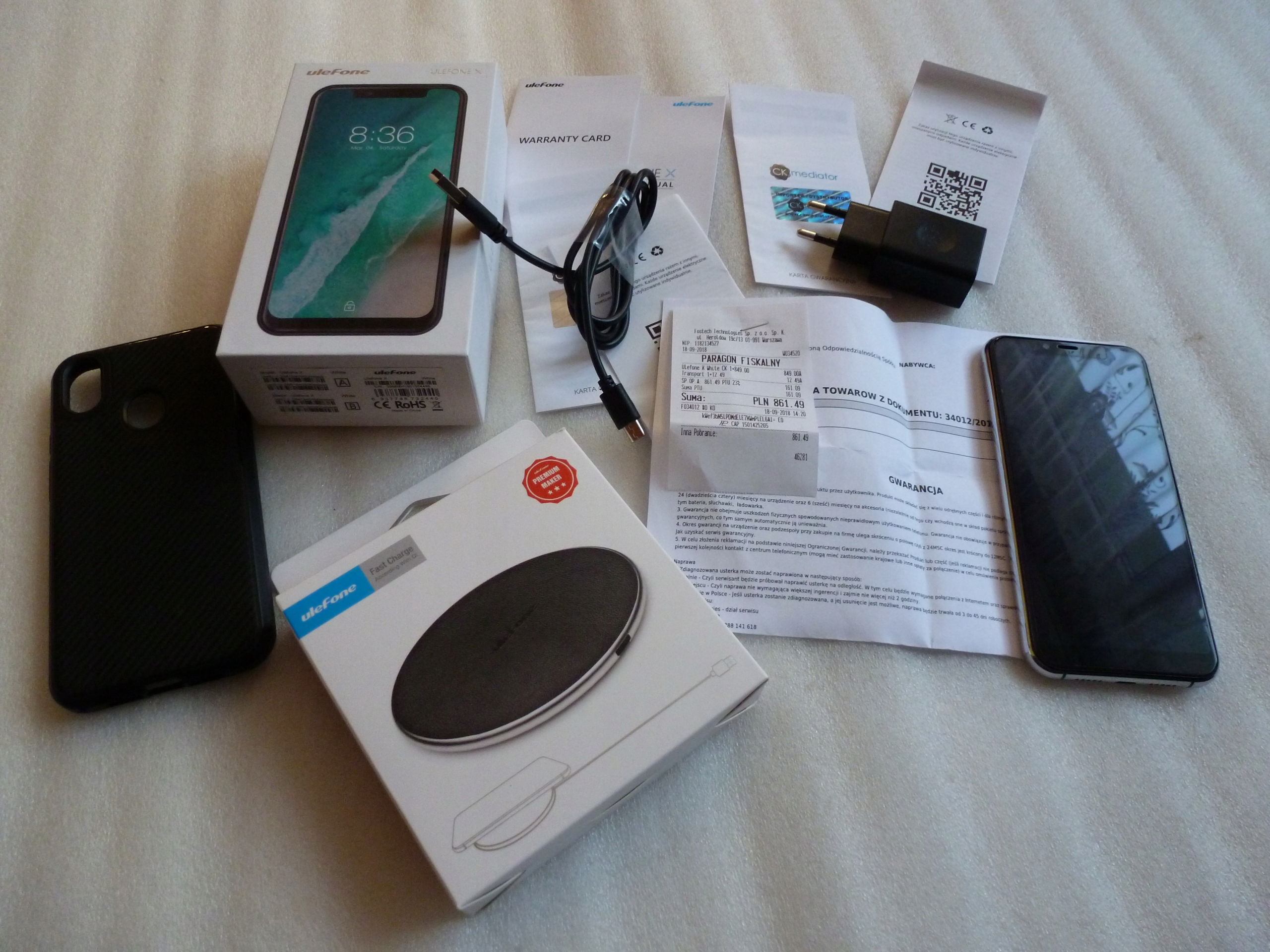 Ulefone X Dualsim 4/64gb Na gwarancji