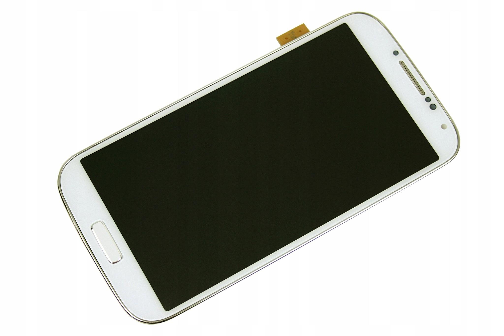 DOTYK RAMKA WYŚWIETLACZ LCD SAMSUNG S4 I9500 BIAŁY