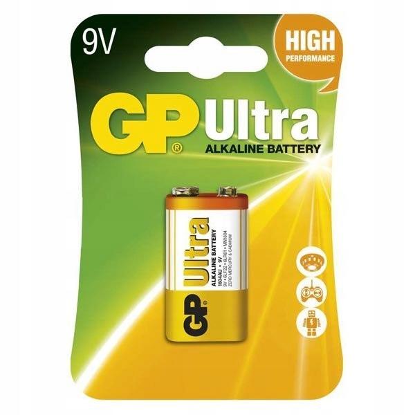 Bateria alkaliczna, R61, 9V, GP, blistr, 1-pack, U