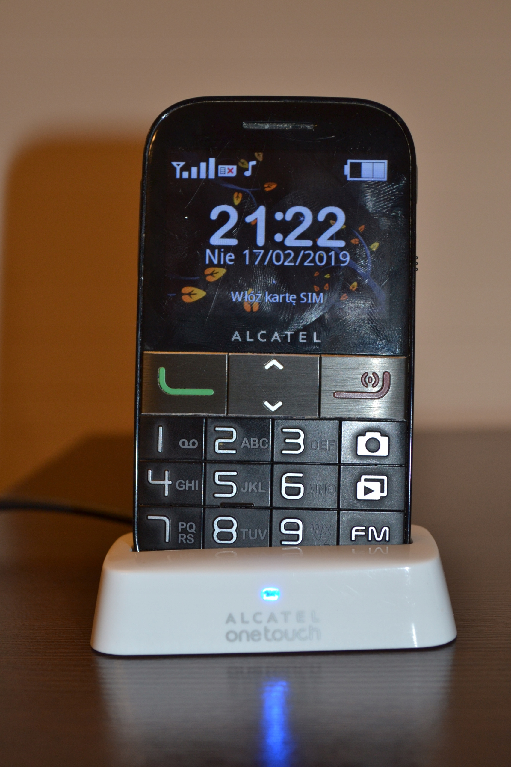 Alcatel 2001 - dla SENIORA